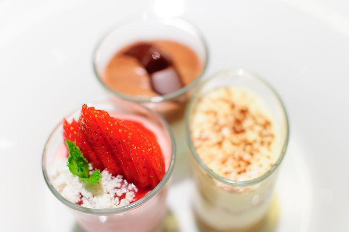 Trio di dessert
