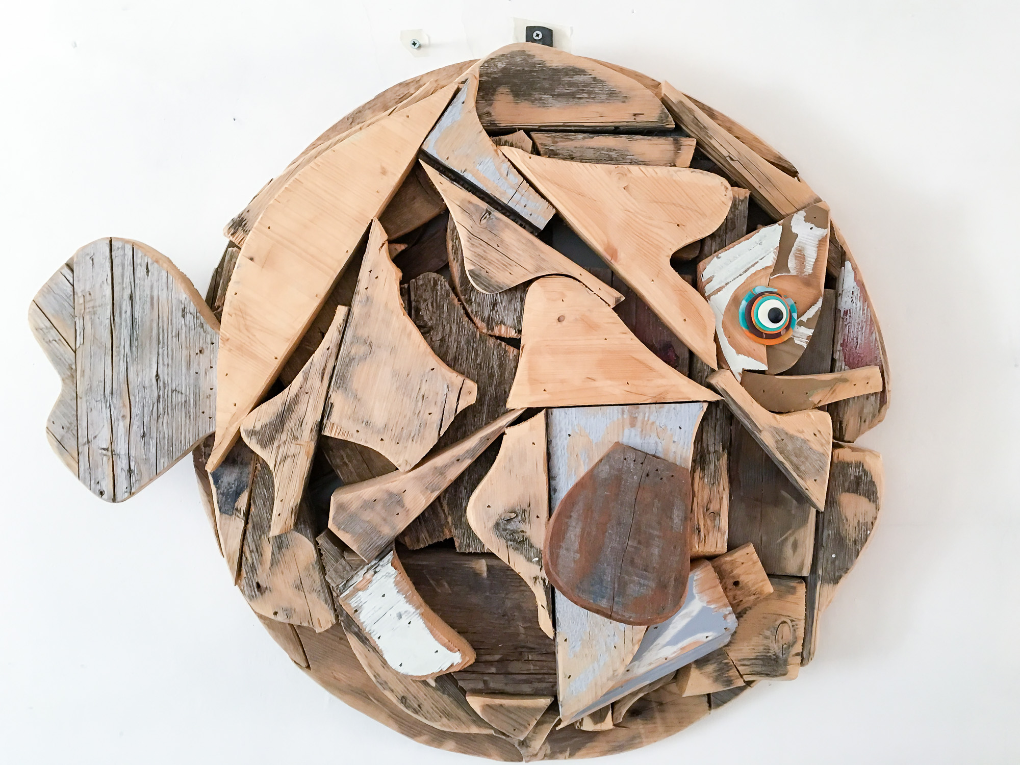 Alberto Rocca: sculture di legno Made in Trieste.
