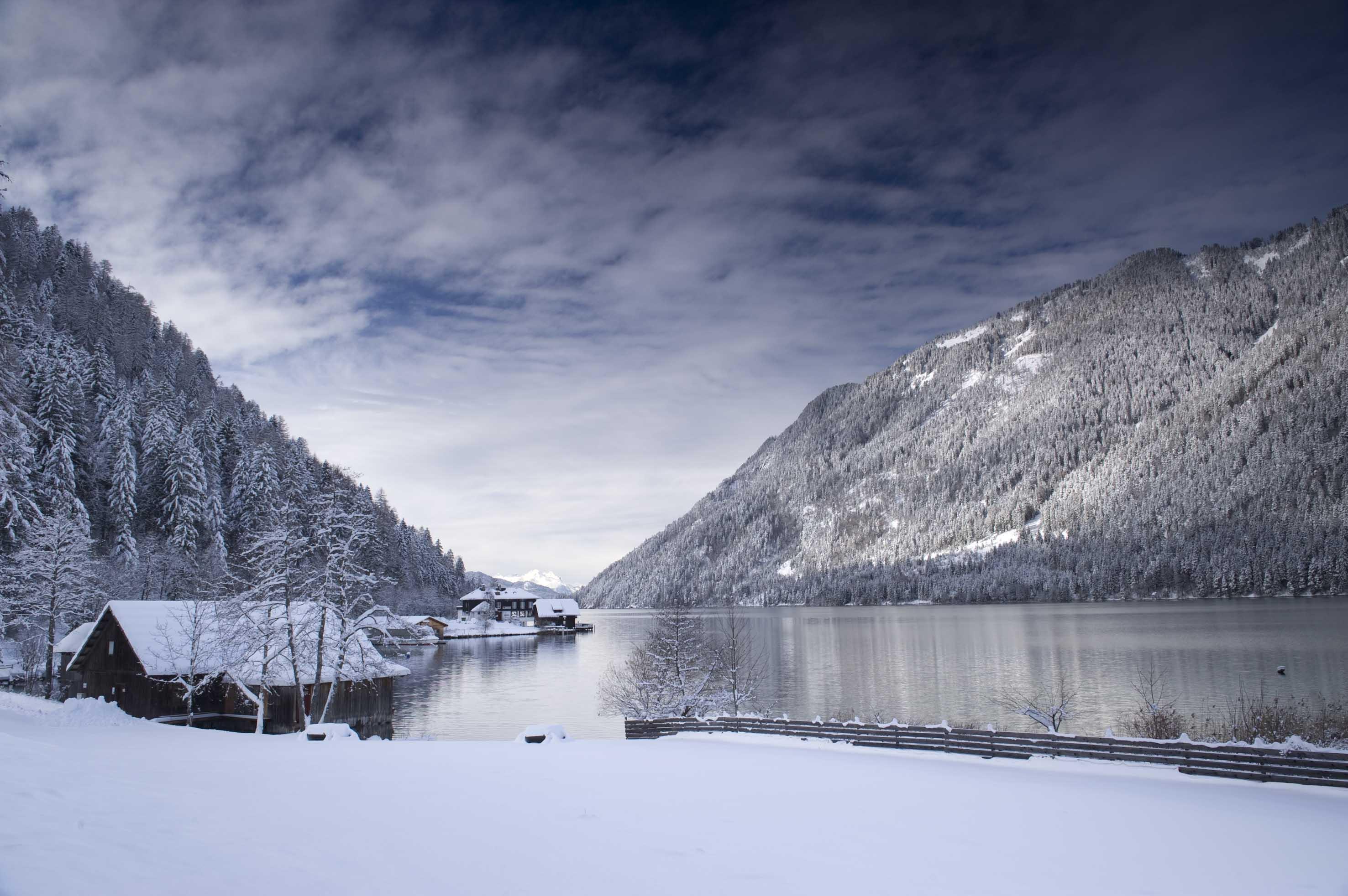 Winter am Woertersee