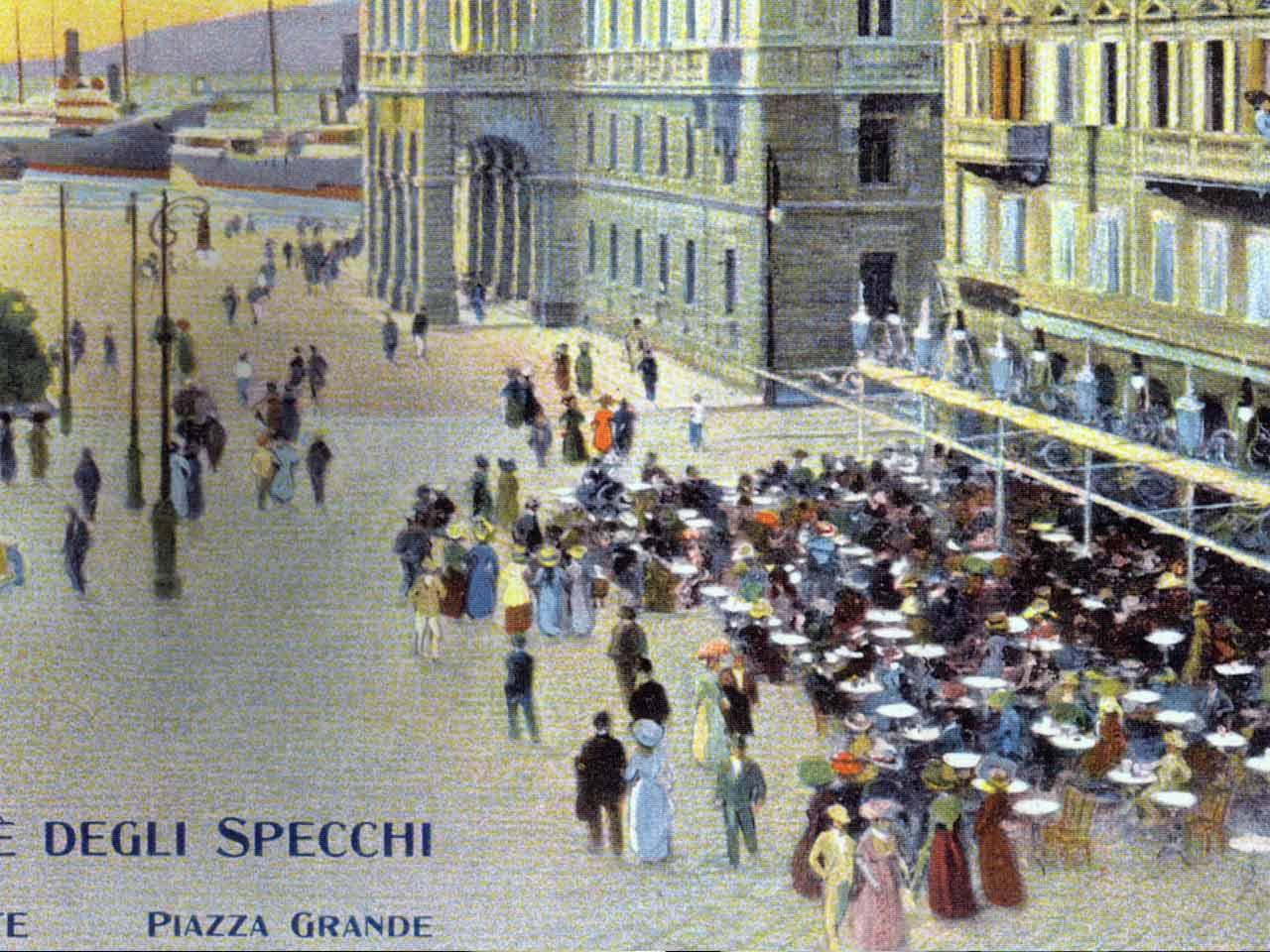 A tour of trieste s historical caf s missclaire - Caffe degli specchi ...