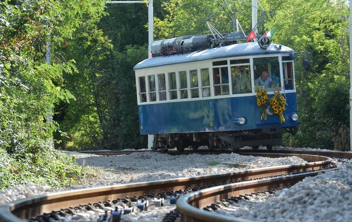 Foto Bruni 11.07.14 Tram Opicina:inaugurazione nuova linea